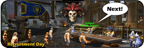 Death Jester recruiting!